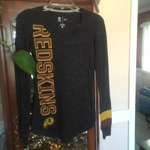 Nike NFL Long Sleeve Redskins T Shirt